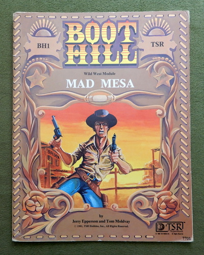 Image for Mad Mesa (Boot Hill RPG module BH1)