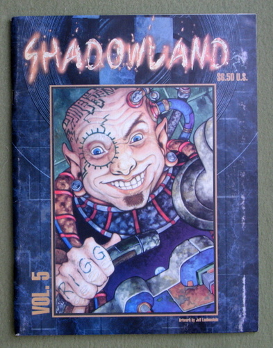 Image for Shadowland Magazine, Vol. 5 (Shadowrun)