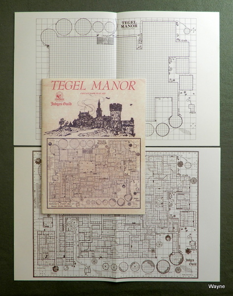 Image for Tegel Manor Classic Reprint (1E Adventure, W/Maps)