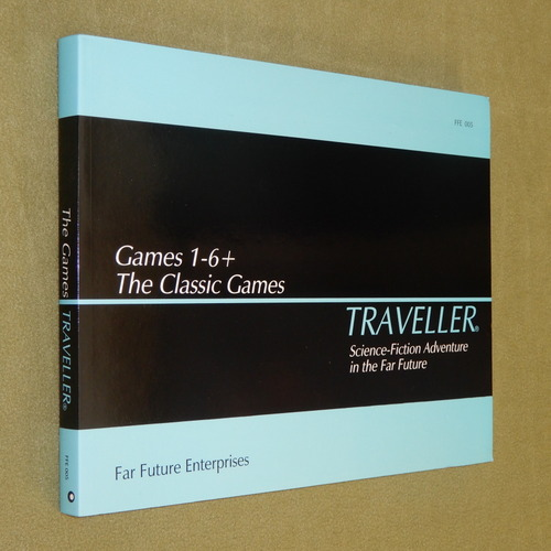 Image for Traveller: Classic Games 1-6+