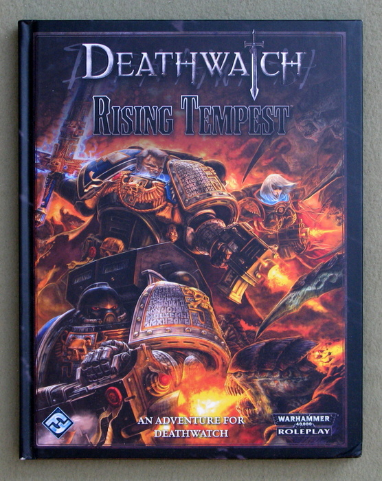 Image for Deathwatch: Rising Tempest (Warhammer 40,000 Roleplay)
