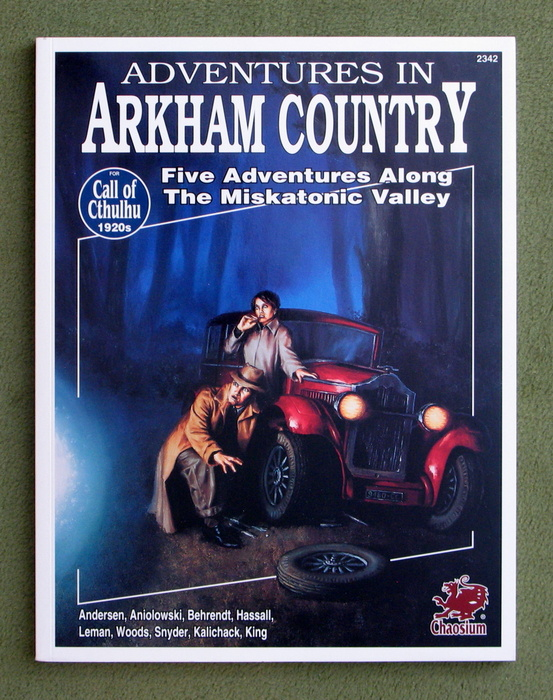 Image for Adventures in Arkham Country: Five Adventures Along the Miskatonic Valley (Call of Cthulhu Horror Roleplaying, 1920s)