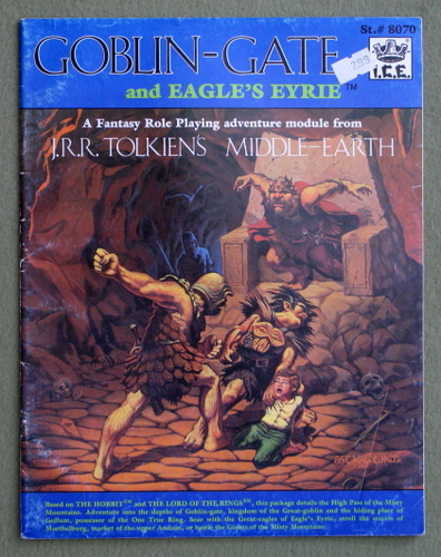 Image for Goblin Gate and Eagle's Eyrie (Middle Earth Role Playing/MERP)