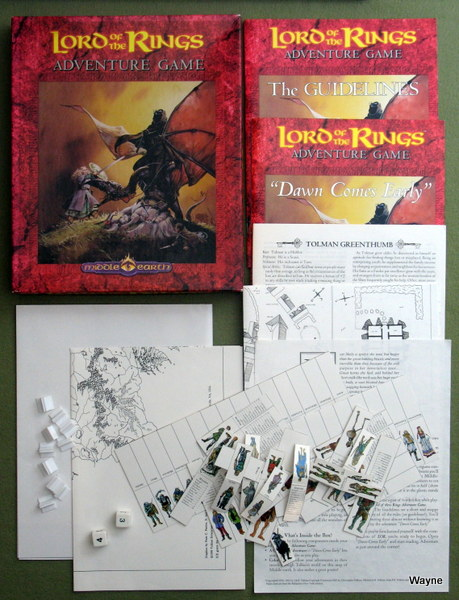 Image for Lord of the Rings: Adventure Game (Middle-Earth Role Playing)