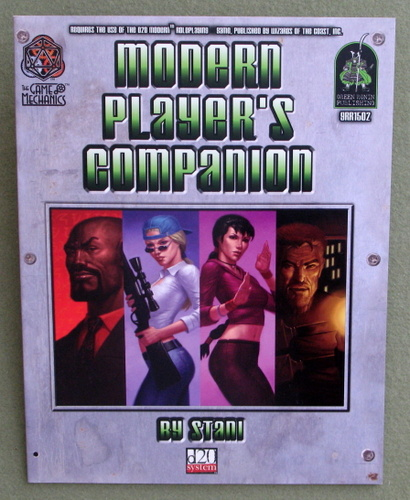 Image for Modern Player's Companion (D20 System: D20 Modern)