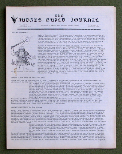 Image for Judges Guild Journal: Installment M (Issue 4: June/July 1977)