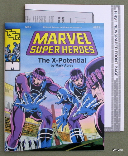 Image for X-Potential (Marvel Super Heroes Module MX2)