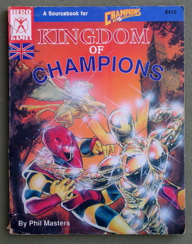 Image for Kingdom of Champions (HERO System) - PLAY COPY