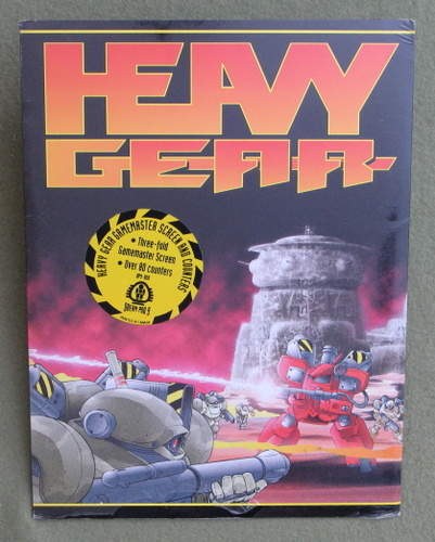 Image for Heavy Gear Gamemaster Screen and Counters