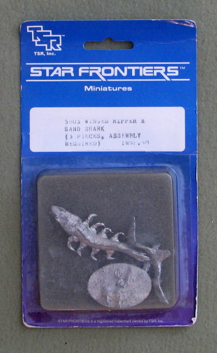 Image for Star Frontiers Winged Ripper & Sand Shark: 3 Pieces (TSR Classics Miniatures)