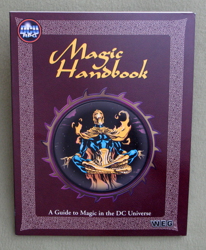 Image for Magic Handbook (DC Universe RPG)