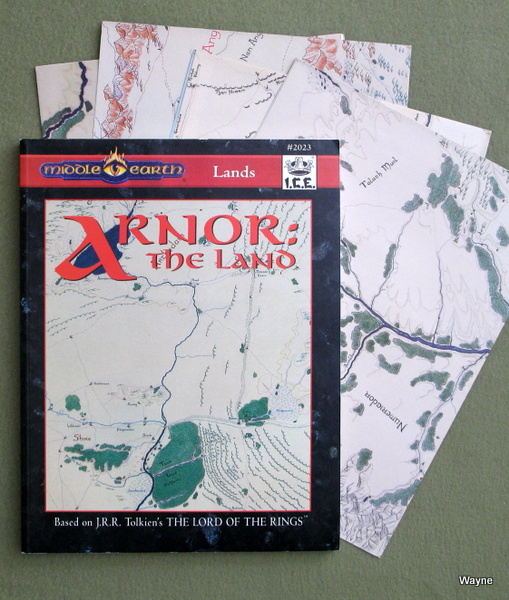Image for Arnor: The Land (Middle Earth Role Playing/MERP)