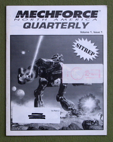 Image for Mechforce Quarterly, Issue 1 (Battletech)