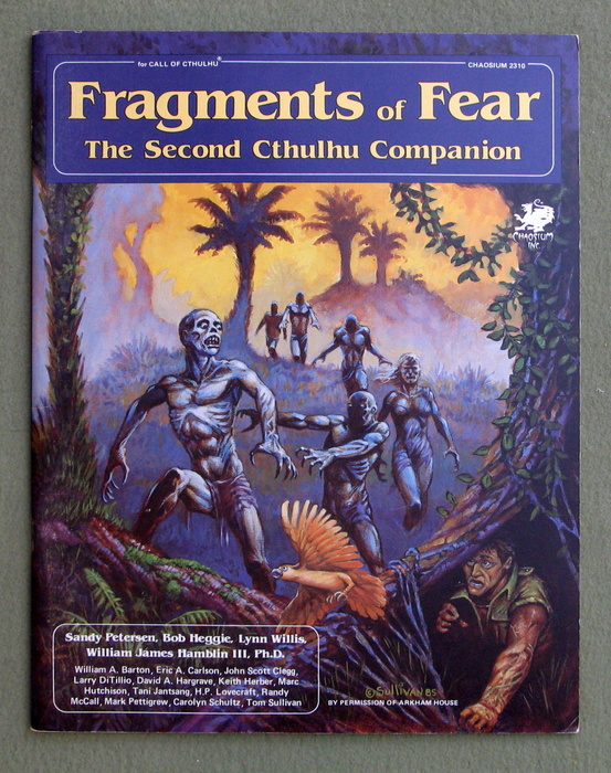 Image for Fragments of Fear: The Second Cthulhu Companion (Call of Cthulhu RPG)