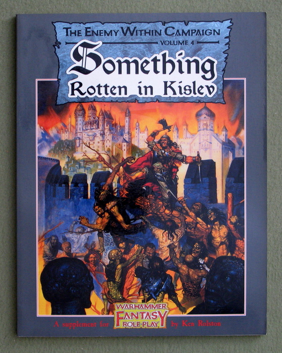 Image for Something Rotten in Kislev (Warhammer Fantasy Roleplay: Enemy Within Campaign, Vol. 4) - NO MAP