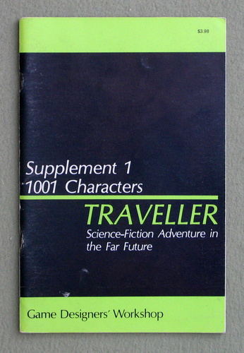 Image for Traveller Supplement 1: 1001 Characters - 1ST PRINT