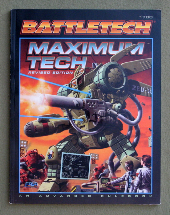 Image for Maximum Tech: Revised Edition (Battletech)
