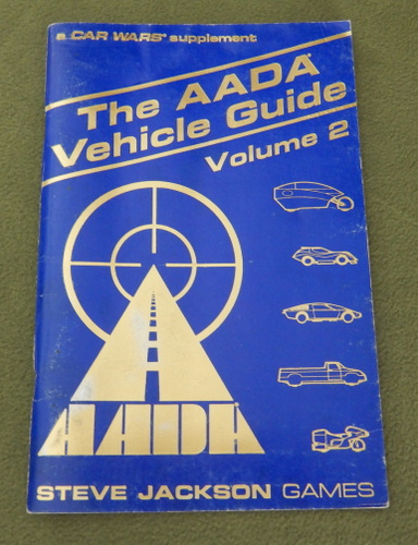 Image for The AADA Vehicle Guide, Volume 2 (Car Wars)