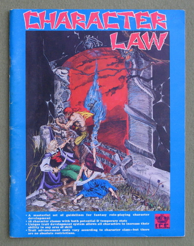 Image for Character Law, 1st Edition (Rolemaster)