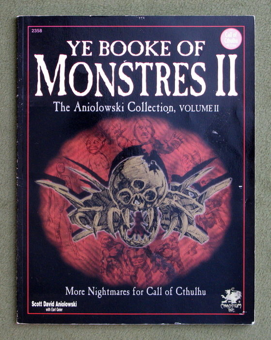 Image for Ye Booke of Monstres II: More Nightmares for Call of Cthulhu