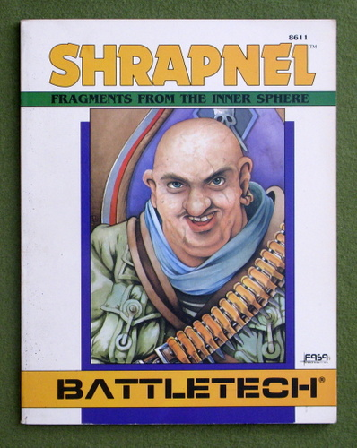 Image for Shrapnel: Fragments from the Inner Sphere (Battletech)