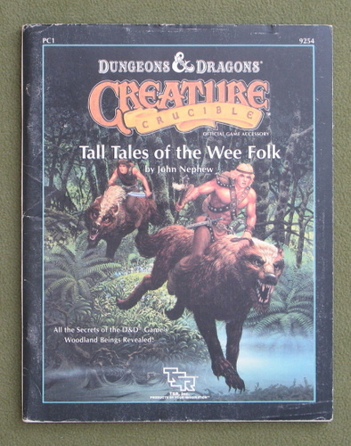 Image for Tall Tales of the Wee Folk (D&D: Creature Crucible PC1) - PLAY COPY
