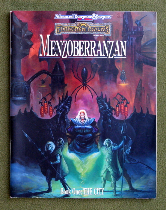 Image for Menzoberranzan, Book One: The City