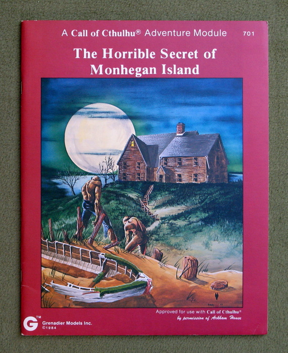 Image for The Horrible Secret of Monhegan Island (Call of Cthulhu)