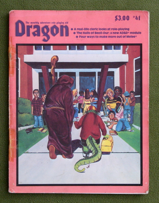 Image for Dragon Magazine, Issue 41 - COVER LOOSE
