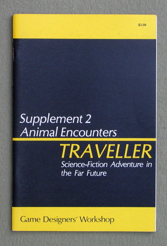 Image for Traveller Supplement 2: Animal Encounters - 1ST PRINT