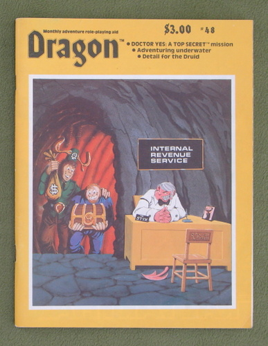 Image for Dragon Magazine, Issue 48