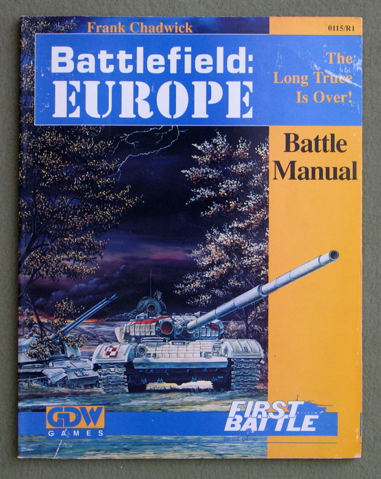 Image for Battlefield Europe: Battle Manual (First Battle Series)
