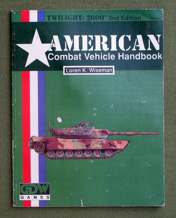 Image for American Combat Vehicle Handbook (Twilight: 2000, 2nd edition) - PLAY COPY