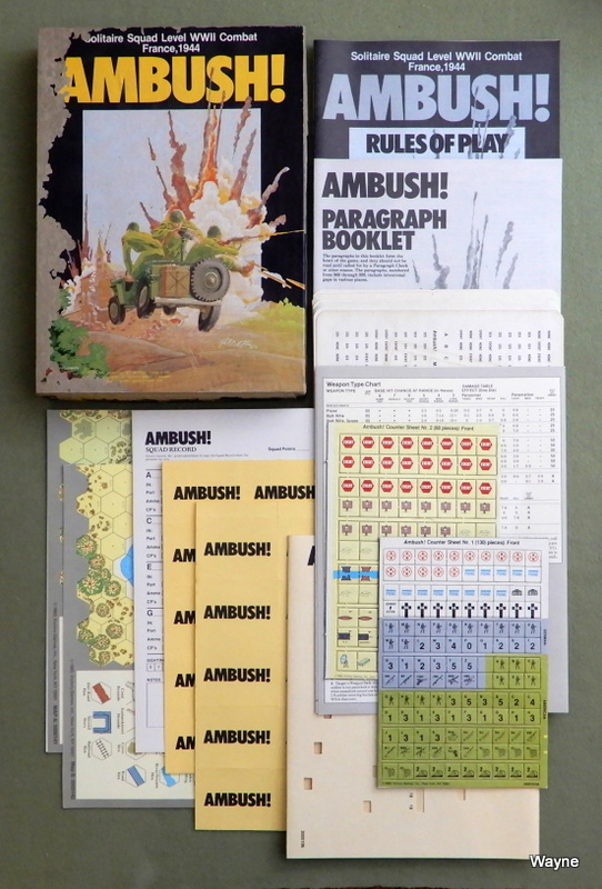 Image for Ambush! Solitaire Squad Level WWII Combat - PLAY SET
