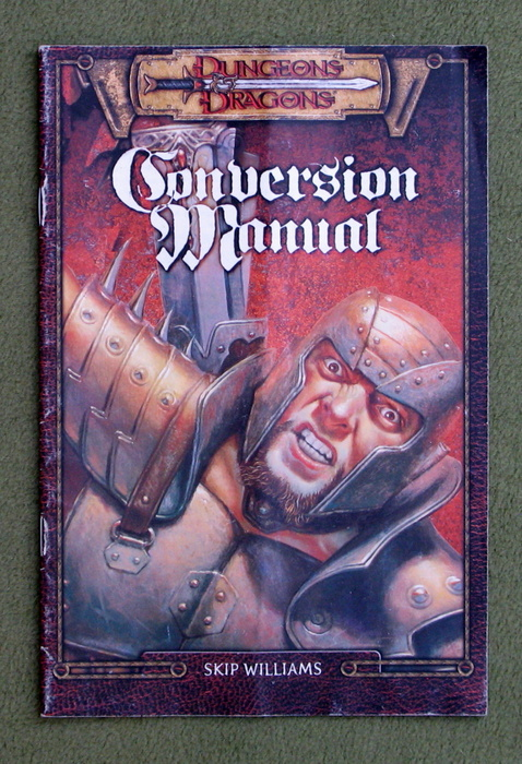 Image for Dungeons & Dragons: Conversion Manual