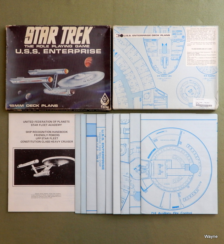 Image for U.S.S. Enterprise Deck Plans (Star Trek: The Role Playing Game)