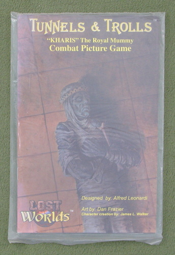 Image for Kharis, The Royal Mummy (Lost Worlds Fantasy Combat Picture Game)