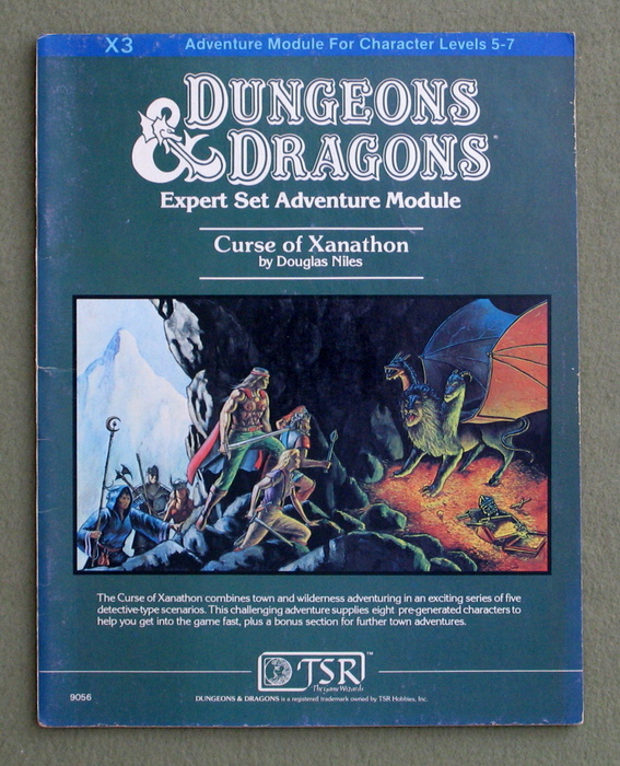Image for Curse of Xanathon (Dungeons & Dragons Module X3)