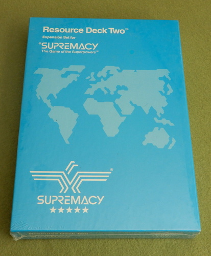 Image for Resource Deck Two (Supremacy: Game of the Superpowers)