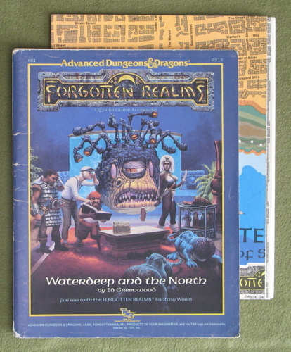 Image for Waterdeep and the North (AD&D / Forgotten Realms) - PLAY COPY