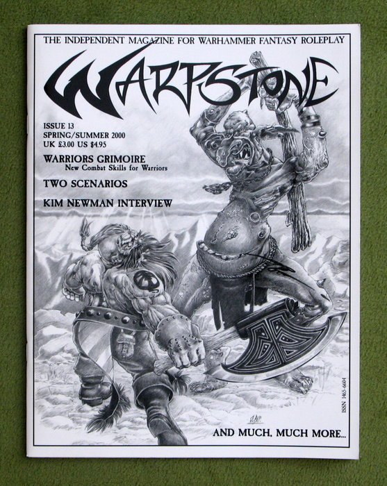 Image for Warpstone, Issue 13: Magazine for Warhammer Fantasy Roleplay