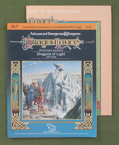 Image for Dragons of Light (Advanced Dungeons & Dragons/Dragonlance Module DL7)