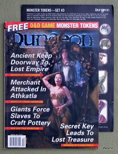 Image for Dungeon Magazine, Issue 88