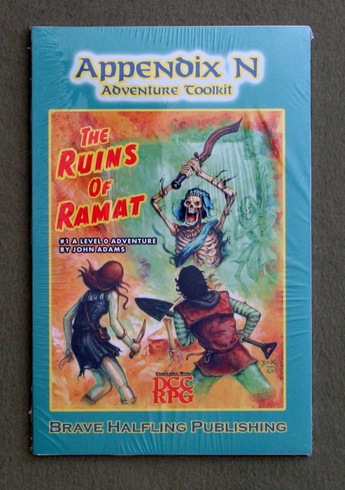 Image for Appendix N Adventures Toolkit #1 - Ruins of Ramat (Dungeon Crawl Classics)
