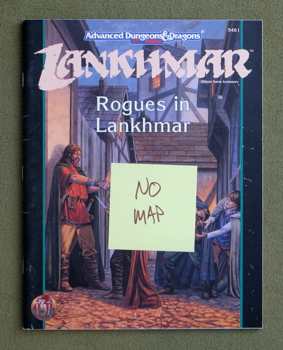 Image for Rogues in Lankhmar (Advanced Dungeons & Dragons) - MISSING MAP