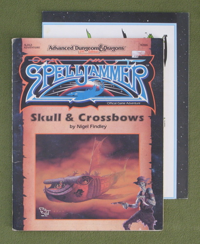 Image for Skull and Crossbows (AD&D / Spelljammer Module SJA2)