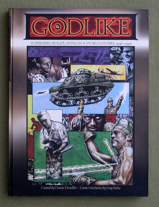 Image for Godlike: Superhero Roleplaying in a World on Fire, 1936-1946