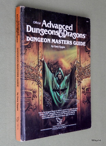 Image for Dungeon Masters Guide (Advanced Dungeons & Dragons: 1st Edition, Revised) - PLAY COPY