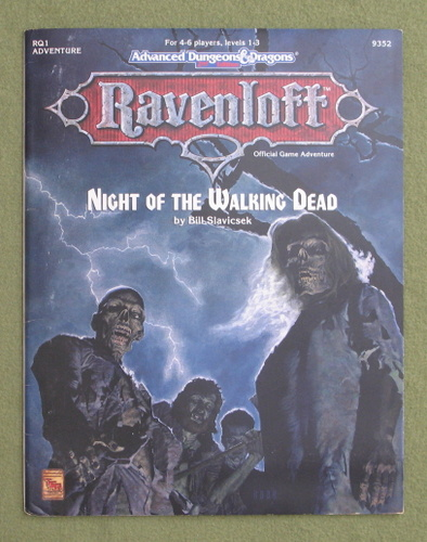 Image for Night of the Walking Dead (AD&D Ravenloft RQ1)