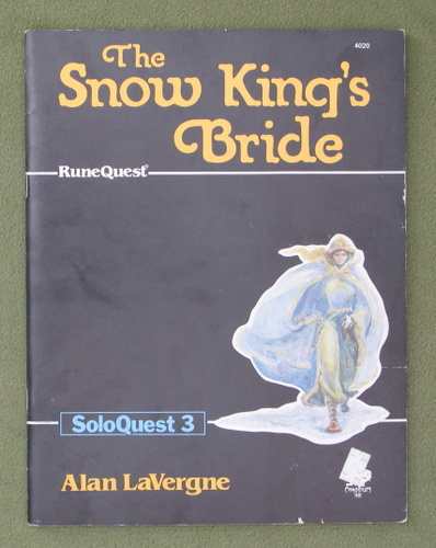 Image for The Snow King's Bride (Runequest: Soloquest 3)